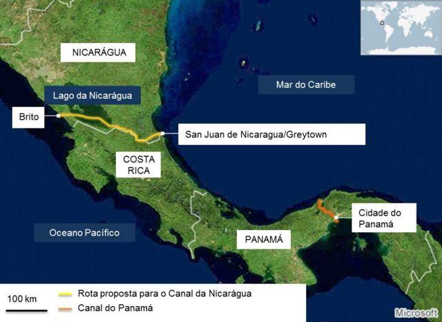 Em meio a polêmicas, Nicarágua começa a construir megacanal