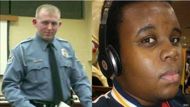 قضية مايكل براون: شغب في بلدة فيرغسون الأمريكية بعد قرار المحلفين عدم اتهام الضابط الأبيض ويلسون