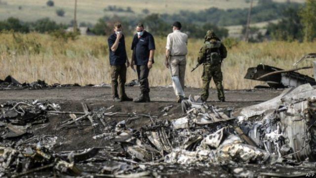 「目擊者」:馬航墜毀「系烏克蘭所為」