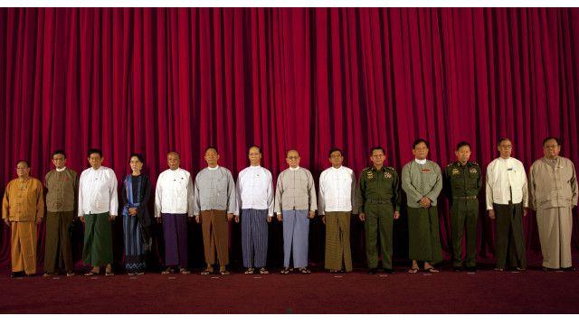 မြန်မာခေါင်းဆောင်များ