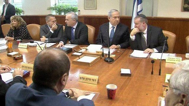 جلسة للحكومة الاسرائيلية