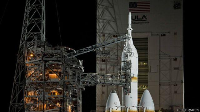 Nasa'nın 'Mars aracı' Orion göreve hazır