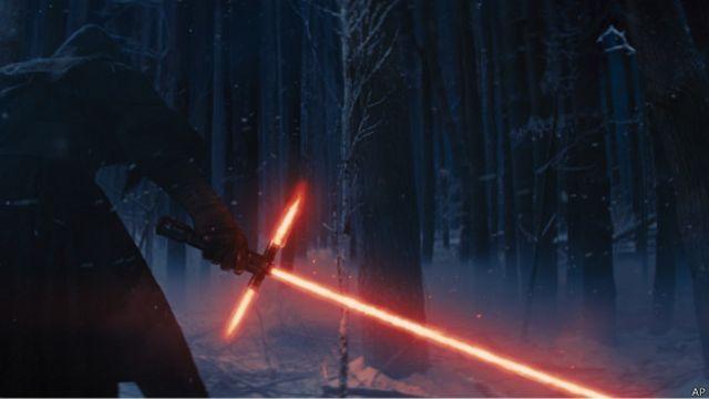 """El secreto detrás de las espadas láser de """"La guerra de las galaxias"""""""