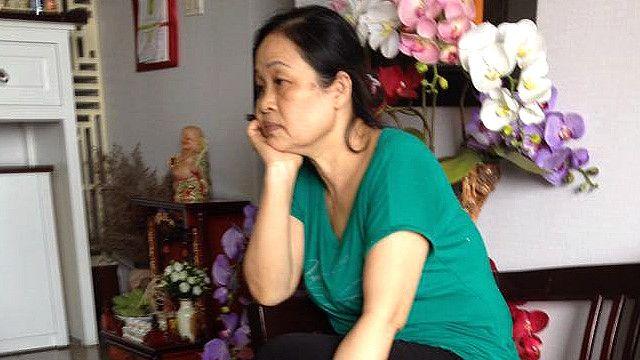 Vợ của nhà văn Nguyễn Quang Lập