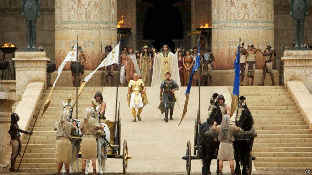 """انتقادات لفيلم """"سفر الخروج آلهة وملوك"""" لاختياره أبطال رئيسيين من ذوي البشرة البيضاء"""