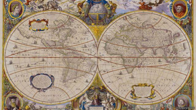 Por qué hay lugares del mundo que no están en los mapas