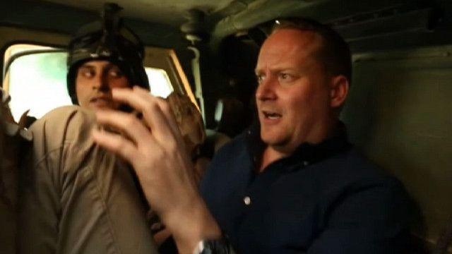 Квентин Соммервиль в автомобиле