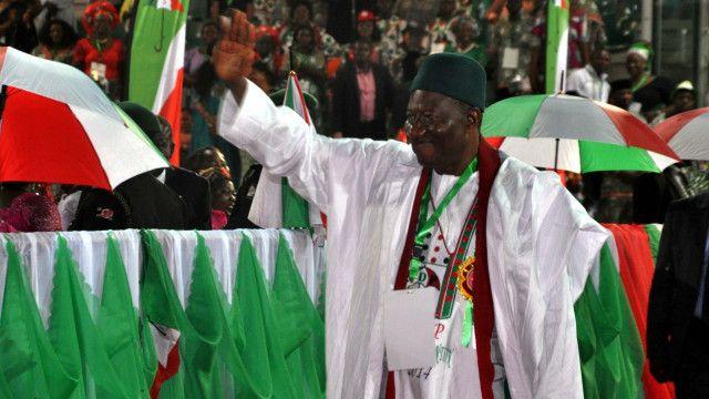 Tsohon Shugaban Nigeria Goodluck Jonathan