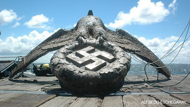 El águila nazi que aún causa polémica en Uruguay