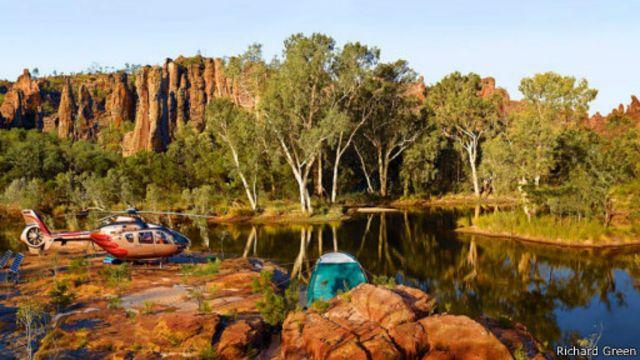مناطق طبيعية في استراليا لم تطأها الأقدام من قبل