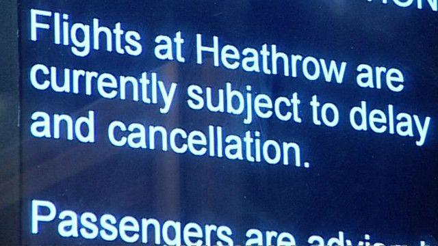 """""""Пассажиров предупреждают, что ресы могут быть отложены или отменены"""""""
