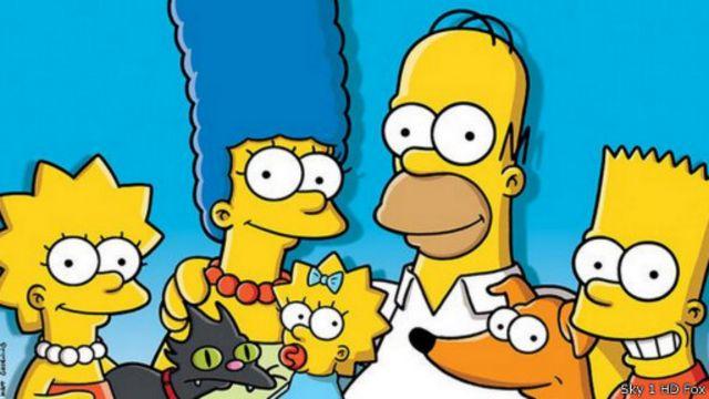 """كيف غيّر مسلسل """"عائلة سمبسون"""" الكرتوني الأمريكي دور التلفاز"""