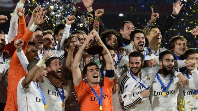 ريال مدريد بطلا لكأس العالم للأندية