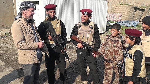 Юрген с молодыми джихадистами