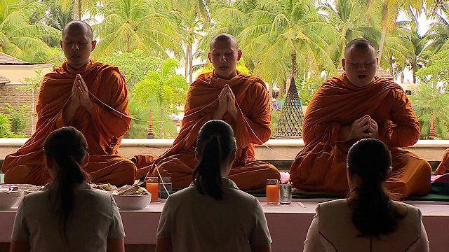 Церемония поминовения в Таиланде