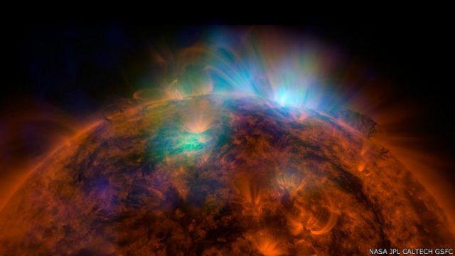 La impresionante imagen del Sol captada con rayos X