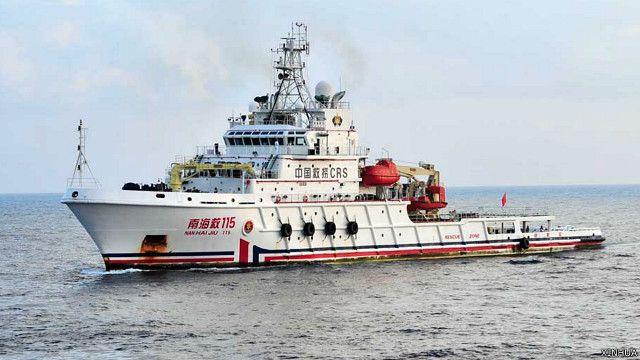 英媒:南海主權爭執- 中國軟化姿態