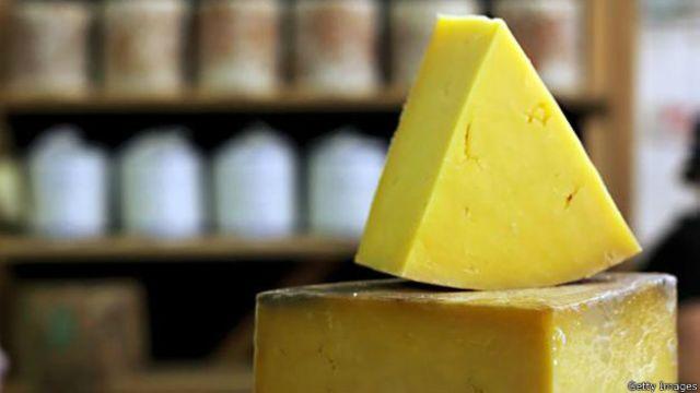 O estranho mundo vivo do interior de um queijo