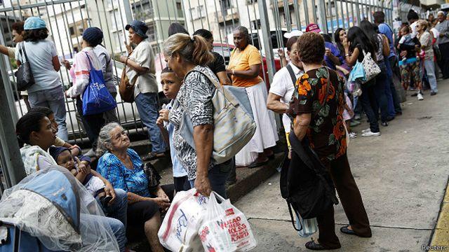 La economía de Venezuela está oficialmente en recesión