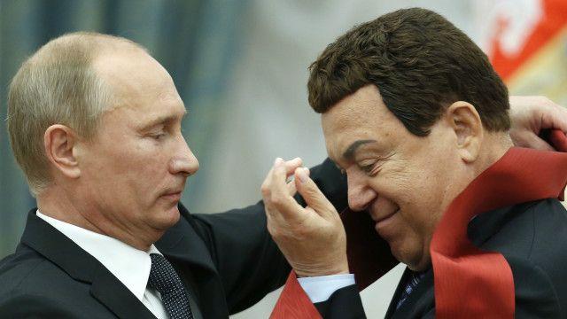 Putin and Kobzon