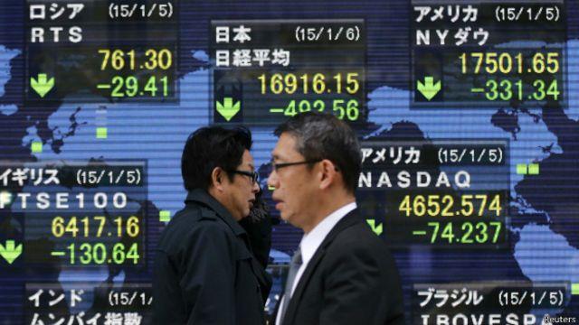 油價下跌及歐元區政局不穩拖累全球股市