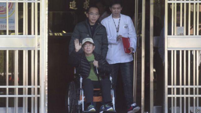 陳水扁保外就醫不得參與政治活動