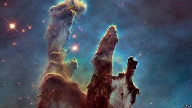 Hubble 'eski dostunun' fotoğraflarını çekti