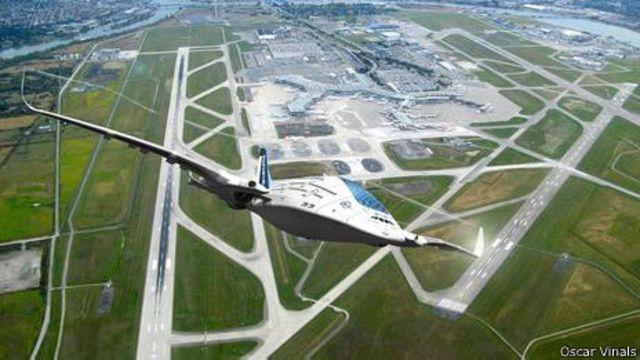 Conheça o avião do futuro