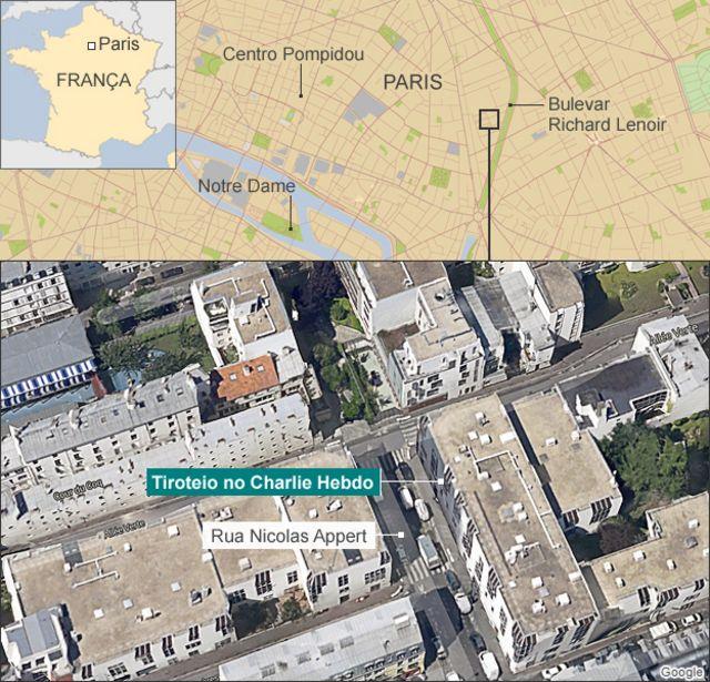 França prende 7 em megaoperação de busca a atiradores