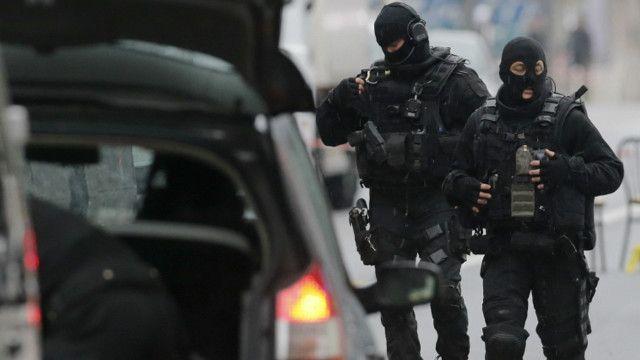 france police gunshot