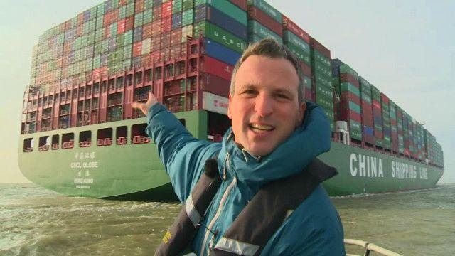 """""""Глоб"""" - самый большой контейнеровоз в мире"""