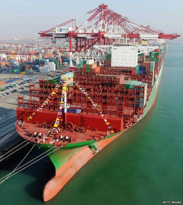 El buque más grande del mundo (por los próximos 53 días)