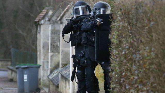 Persecución a los atacantes de Charlie Hebdo