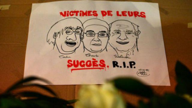 國際縱橫:《查理周刊》槍擊案撼動法國