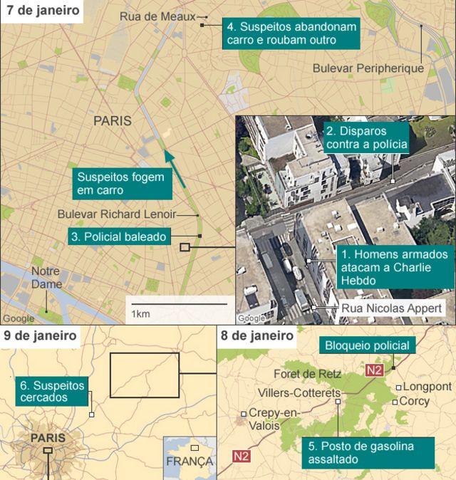Polícia francesa mata irmãos suspeitos e sequestrador; quatro reféns morrem