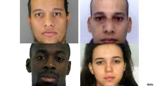 Ataque em Paris: quem são os quatro suspeitos?