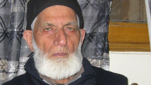 सैयद अली शाह गिलानी, भारत प्रशासित जम्मू कश्मीर के अलगाववादी नेता