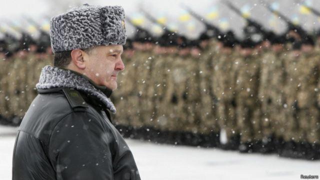 Петр Порошенко подписал указ о мобилизации