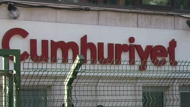 مقر صحيفة جمهورييت التركية