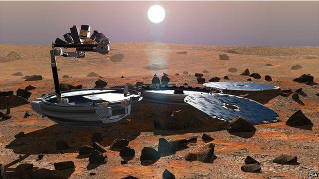 失蹤12年 小獵犬2號竟然已登陸火星