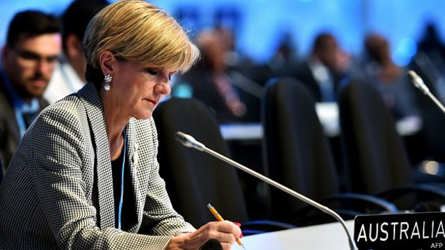 Ministra australiana dice que ejecución no es solución a problema de drogas en Indonesia