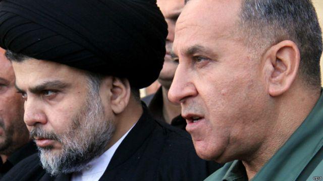 """وزير الدفاع العراقي والزعيم الديني مقتدى الصدر يؤكدان """"ضرورة تمثيل الجيش لجميع الطوائف"""""""