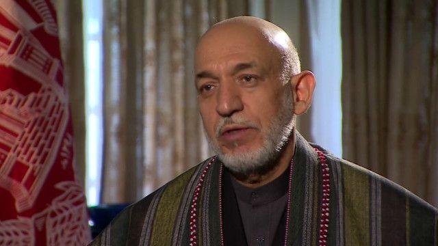 گفتگوی حامد کرزی در باره وجود داعش در افغانستان
