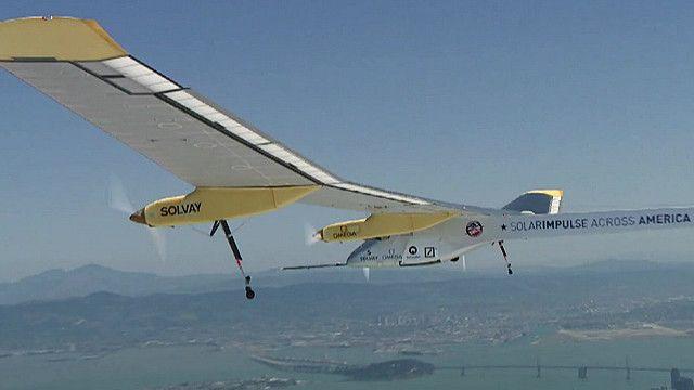 شمسی توانائی سے چلنے والا جہاز سولر اِمپلس ٹو