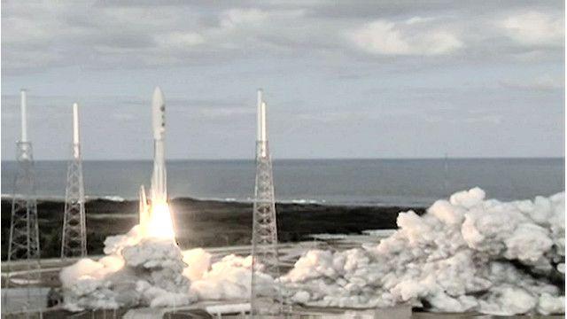 اطلاق صاروخ من ناسا