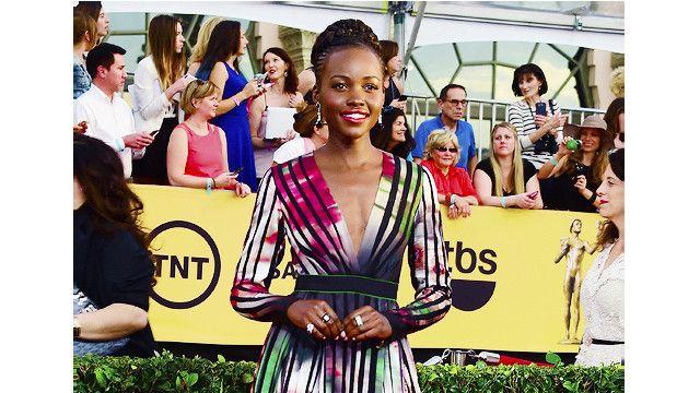 Lupita Nyong'o:ateuliwa balozi wa kulinda Tembo
