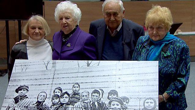 Бывшие узники Освенцима