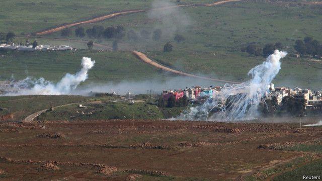 حزب الله يهاجم رتلا عسكريا إسرائليا في مزارع شبعا