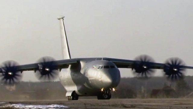 """Украинский """"Антонов"""" готовит новый самолет к Ле Бурже"""
