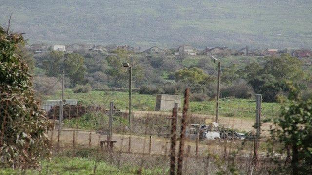 منطقة على الحدود الاسرائيلية اللبنانية